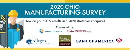 2020 Ohio Manufacturing Survey banner2