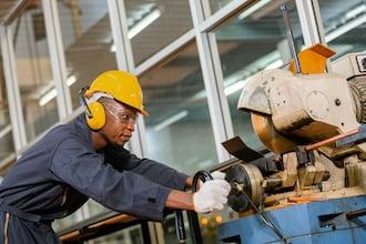 Male engineering student