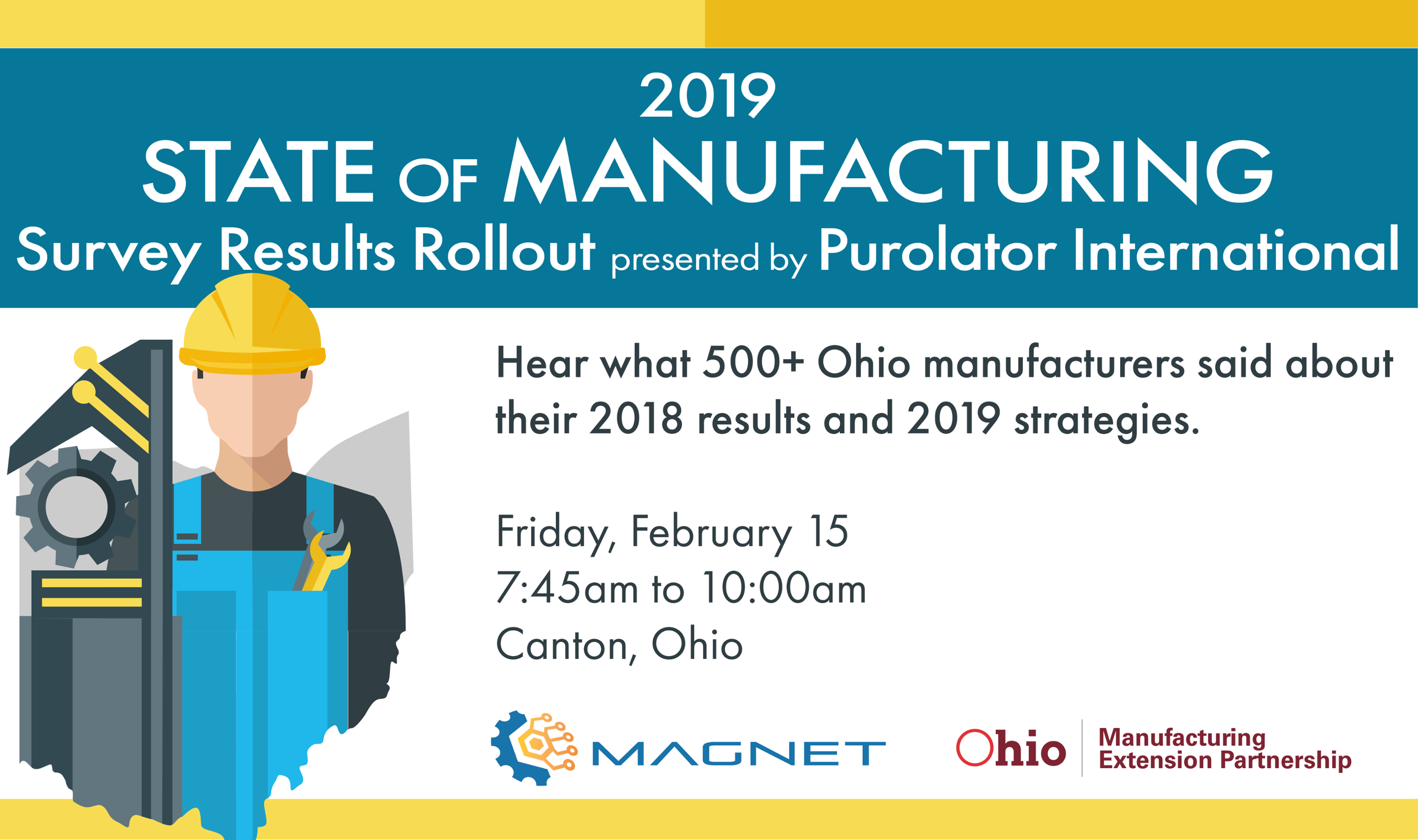 State of Manufacturing Survey Results Rollout Feb 15