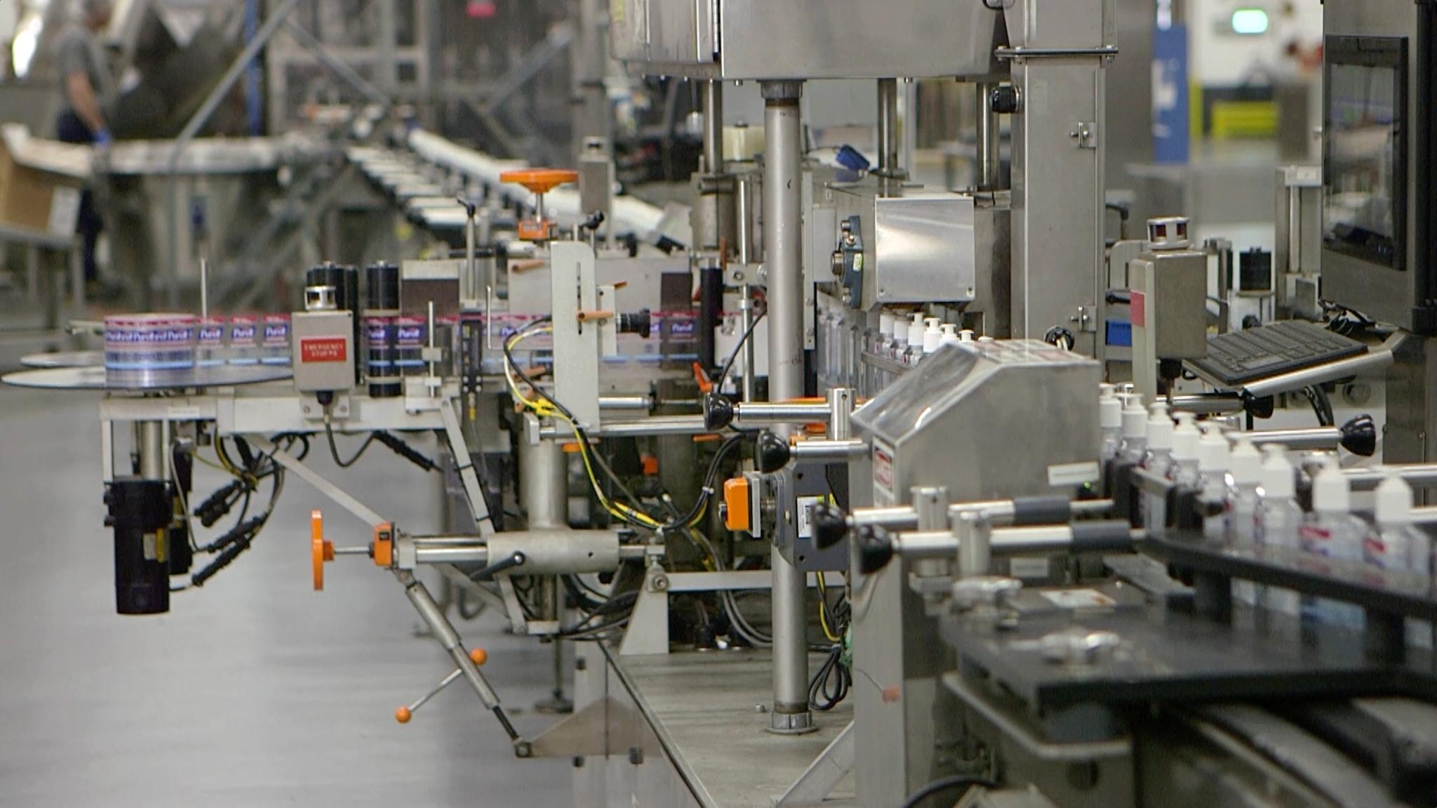 purell factory line